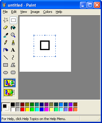 Rotate Picture In Paint  Degrees